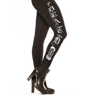 Damen Leggings  CVLT NATION - Mourning Prayer - Black, CVLT NATION