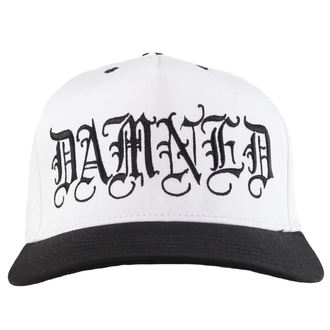 Cap CVLT NATION - Damned - White/BLK, CVLT NATION