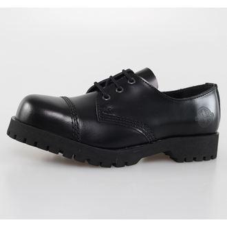 Schuhe NEVERMIND - 3 Loch - Black Polido, NEVERMIND