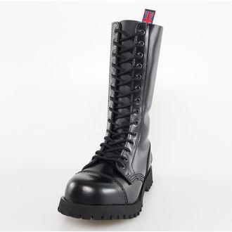 Schuhe NEVERMIND - 14 Loch - Black Polido, NEVERMIND