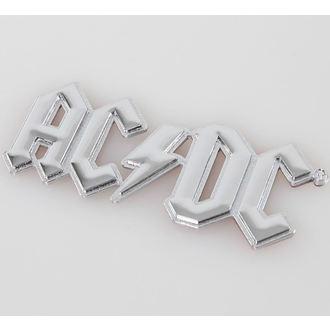Aufkleber 3D AC/DC - Chromlogo, F.B.I., AC-DC