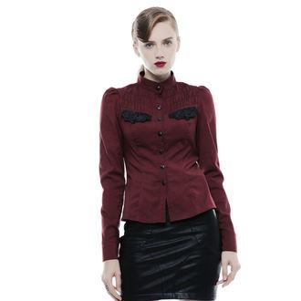 Damen Bluse Gothic Punk - Lady Bat - PUNK RAVE, PUNK RAVE