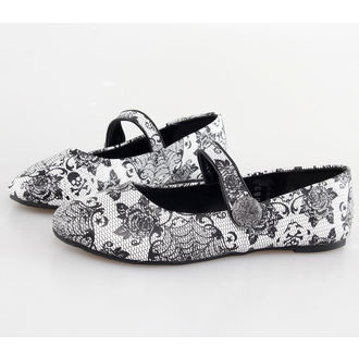 Damen Ballerinas  IRON FIST - Midnight Widow - White, IRON FIST