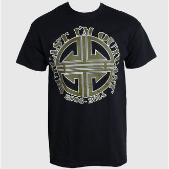 Herren T-Shirt   Ektomorf - I am Outcast - Black - ART WORX, ART WORX, Ektomorf
