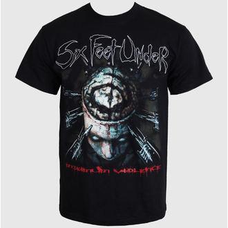 Herren T-Shirt   Six Feet Under - Maximum Violence - ART WORX, ART WORX, Six Feet Under