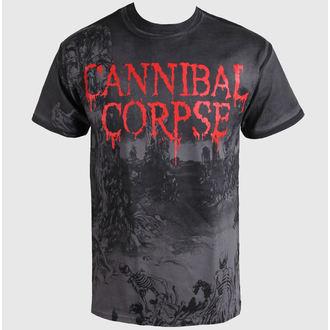 Herren T-Shirt   Cannibal Corpse  - A Skeletal Domain - Volldruck - PLASTIC HEAD, PLASTIC HEAD, Cannibal Corpse