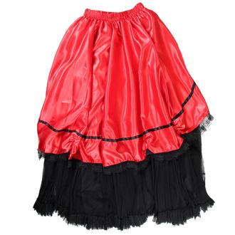Damen Rock  Buvs - Black/Red, NNM