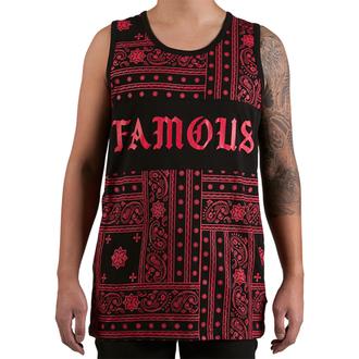 Herren Tanktop  FAMOUS STARS & STRAPS - Redrum - Black, FAMOUS STARS & STRAPS