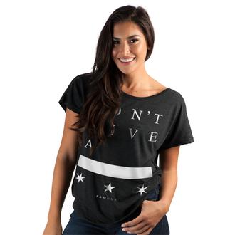 Damen T-Shirt FAMOUS STARS & STRAPS - DGA Dolman - BLK, FAMOUS STARS & STRAPS