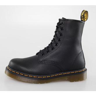 Stiefel Boots DR. MARTENS - 8 Loch - 1460 - BLACK GREASY