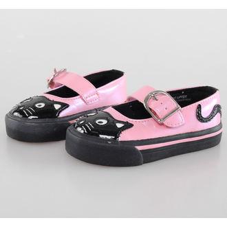 Schuhe Kinder T.U.K.- Pink / Black, NNM