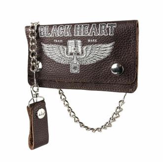 Brieftasche BLACK HEART - Rahakot, BLACK HEART