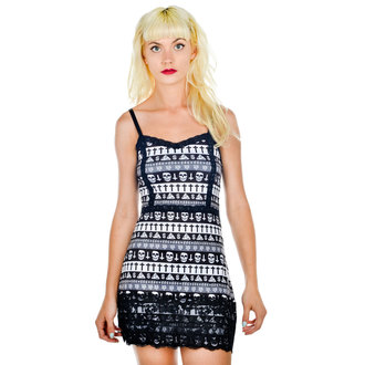 Damen Kleid  TOO FAST - Curse - Evil Aztec, TOO FAST
