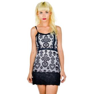 Damen Kleid  TOO FAST - Curse - Skull Lace, TOO FAST