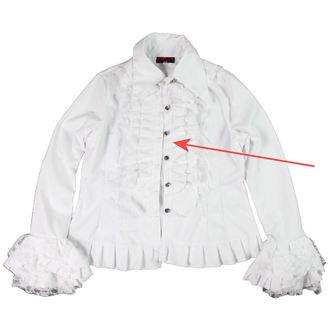 Frauenhemd  ADERLASS - White - BESCHÄDIGT, ADERLASS