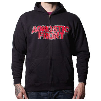Herren Hoodie  Agnostic Front - Never Walk Alone - BUCKANEER - Black, Buckaneer, Agnostic Front
