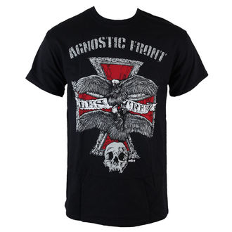 Herren T-Shirt  Agnostic Front - Les Crew - Black - RAGEWEAR, RAGEWEAR, Agnostic Front