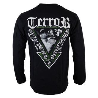 Herren Langarmhirt  Terror - Only Death - Black - RAGEWEAR, RAGEWEAR, Terror