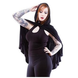 Hoodie (Tagesdecke) Damen NECESSARY EVIL - Gothic Dunne - Black, NECESSARY EVIL