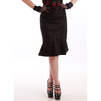 Rock Damen NECESSARY EVIL - Damara Retro Tulip - Black, NECESSARY EVIL