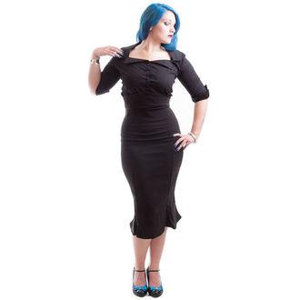 Frauenhemd  NECESSARY EVIL - Belisama Poplin - Black, NECESSARY EVIL