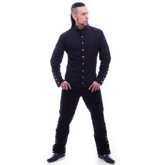 Herrenhemd  NECESSARY EVIL - Chronus - Black, NECESSARY EVIL