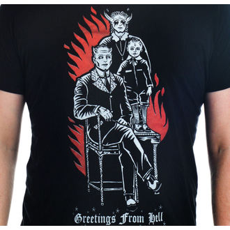 Herren T-Shirt  TOO FAST - Grüße From Hell, TOO FAST