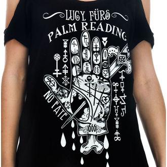 Damen T-Shirt  (Top) TOO FAST - Lucy Furs Palm Lesen, TOO FAST