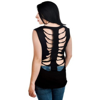 Tank Top/ Damen Unterhemd TOO FAST - Ribcage - Dark Th Oughts, TOO FAST