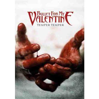 Fahne Bullet For My Valentine - Temper Temper, HEART ROCK, Bullet For my Valentine