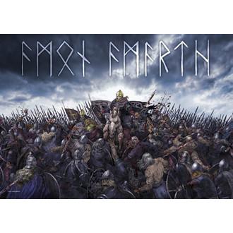 Fahne Amon Amarth - Battlefield, HEART ROCK, Amon Amarth