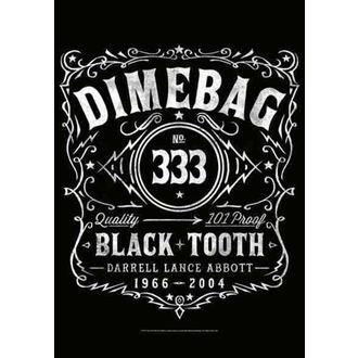 Fahne Dimebag Darrel - Label, HEART ROCK, Dimebag Darrell