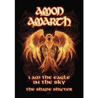 Fahne Amon Amarth - Burning Eagle, HEART ROCK, Amon Amarth