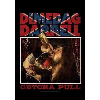 Fahne Dimebag Darrel - Getcha Pull, HEART ROCK, Dimebag Darrell