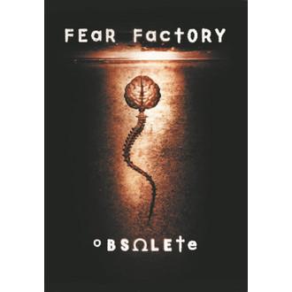 Fahne Fear Factory - Obsolete , HEART ROCK, Fear Factory