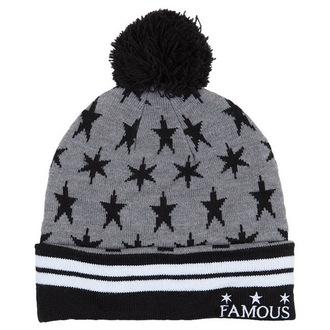 Strickbeanie  FAMOUS STARS & STRAPS - Lunar Pom - Grey, FAMOUS STARS & STRAPS