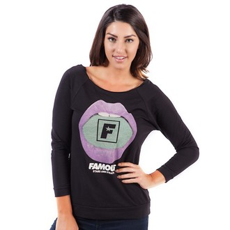 Damen T-Shirt  mit 3/4-Arm FAMOUS STARS & STRAPS - Sweet Tooth, FAMOUS STARS & STRAPS