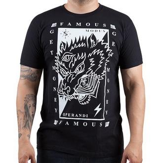 Herren T-Shirt  FAMOUS STARS & STRAPS - Wolf Money, FAMOUS STARS & STRAPS