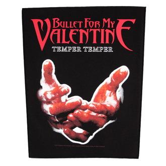 Großer Aufnäher     Bullet For my Valentine - Temper Temper - RAZAMATAZ, RAZAMATAZ, Bullet For my Valentine