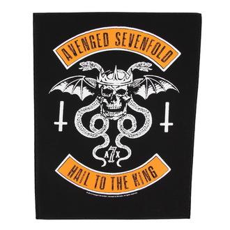 Großer Aufnäher     Avenged Sevenfold - Biker - RAZAMATAZ, RAZAMATAZ, Avenged Sevenfold