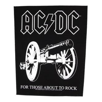 Großer Aufnäher   AC/DC- For Thise About To Rock - RAZAMATAZ, RAZAMATAZ, AC-DC