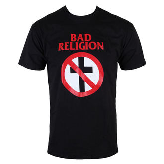 Herren T-Shirt  Bad Religion - Cross Buster - Black - KINGS ROAD, KINGS ROAD, Bad Religion