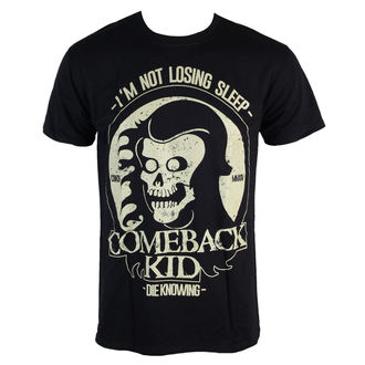 Herren T-Shirt  Comeback Kid - Reaper - Black - KINGS ROAD, KINGS ROAD, Comeback Kid