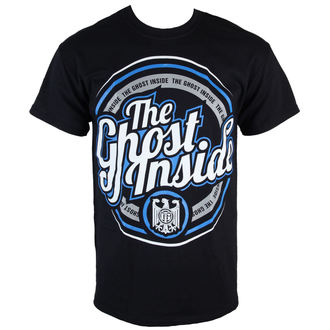 Herren T-Shirt  The Gost Inside - Circle Logo - Black - KINGS ROAD, KINGS ROAD, The Ghost Inside