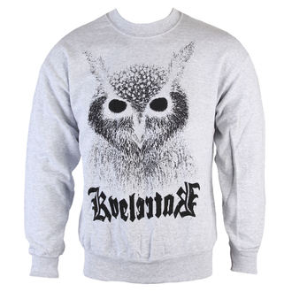 Herren Hoodie  Kvelertak - Barlett Owl - Heather Gray - KINGS Raod, KINGS ROAD, Kvelertak