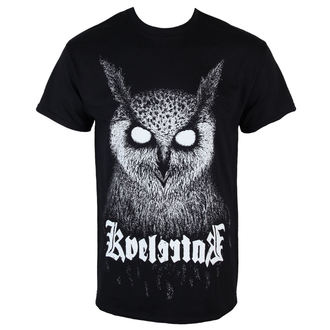 Herren T-Shirt  KINGS ROAD - Kvelertak - Barlett Owl - Black - KINGS ROAD, KINGS ROAD, Kvelertak