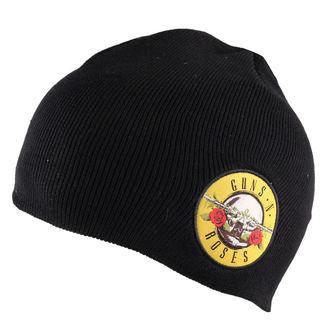 Strickbeanie  Guns n Roses - Bullet Logo Cotton - Black, ROCK OFF, Guns N' Roses