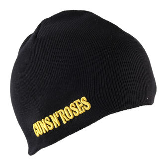 Strickbeanie  Guns n Roses - Bullet Logo Cotton - Black, ROCK OFF, Guns N' Roses