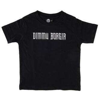 Kinder T-Shirt Dimmu Borgir - Logo - Black - Metal-Kids, Metal-Kids, Dimmu Borgir