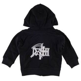 Kinder Hoodie  Death - Logo - Metal-Kids, Metal-Kids, Death